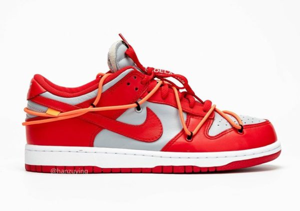 Nike x Off-White Dunk Low University Red