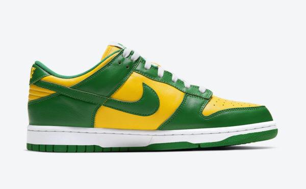 "Nike Dunk Low SP ""Brazil"" (2020)"