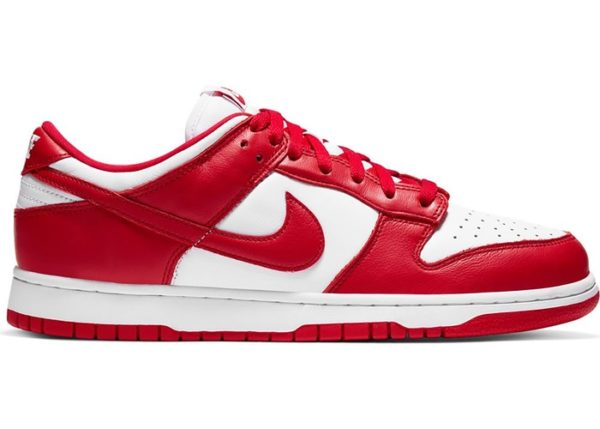 Nike Dunk Low SP White University Red (2020)